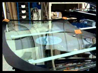 Auto Glass Inspection Workstation Turntable