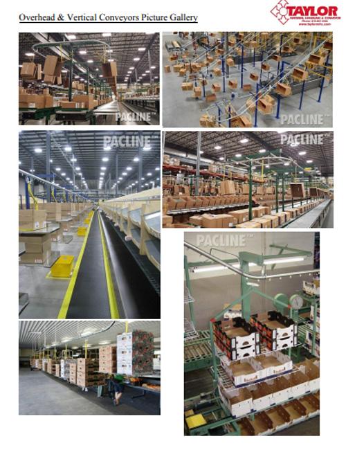 Overhead & Vertical Conveyors