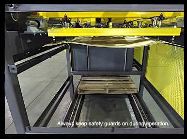 Pallet De-Stacker & Slip Sheet Dispenser