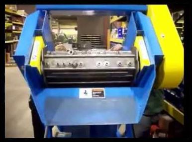 Small Scrap Parts Conveyor