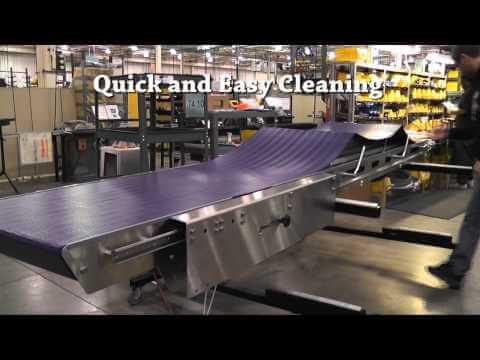 7400 AquaPruf Conveyor w/ Retractable Tail
