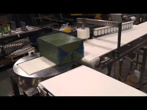 90 Degree Product Rotator w/ AquaPruf Conveyors