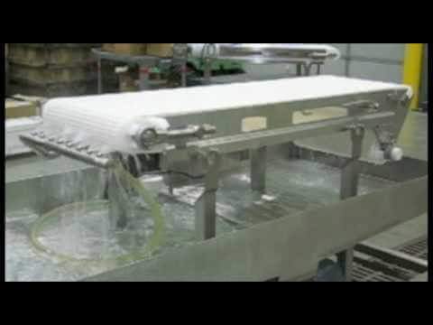 AquaPruf Clean-In-Place Sanitary Conveyors