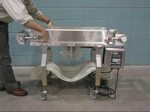 AquaPruf Conveyor Ready for Sanitation in Minutes