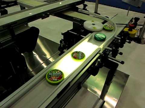 Backlit Belt Conveyor