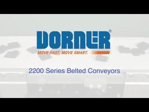 Dorner 2200 Series Belted & LPZ Conveyors
