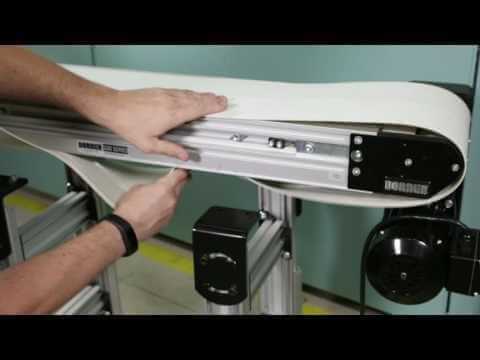 Dorner 3200 Series Belted Conveyor Belt Change