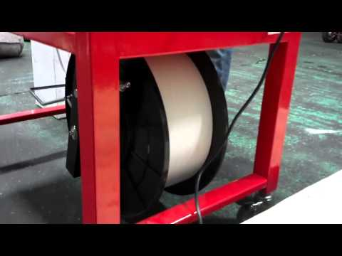 Eagle 100 table top semi automatic strapping machine Part 1