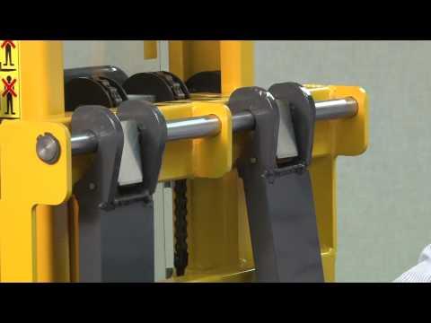 Manual Pallet Straddle Stacker