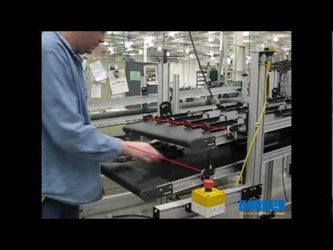 Multi-tiered Conveyor System w/ Photo Eyes