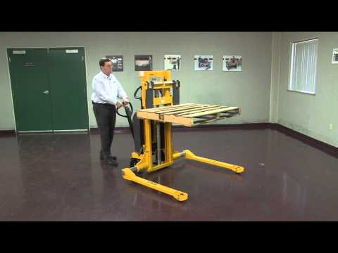 Pallet Straddle Stacker