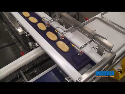 Tray Filling Conveyor w/ Retractable Tail