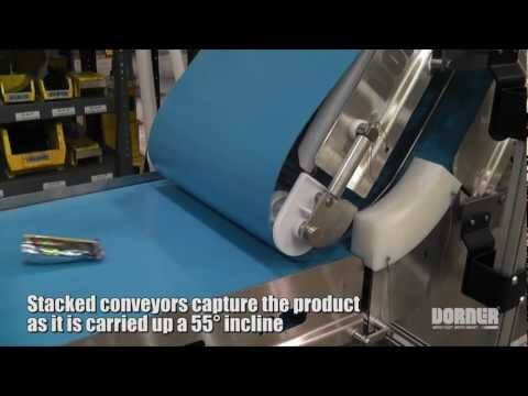 Vertical Pouch Handling Conveyor System