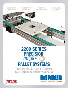 2200 Series Precision Move Pallet Systems