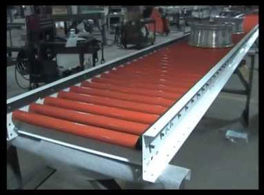 Non-Marking Poly V Conveyor