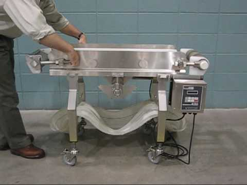 AquaPruf Conveyor Ready for Sanitation in Minutes