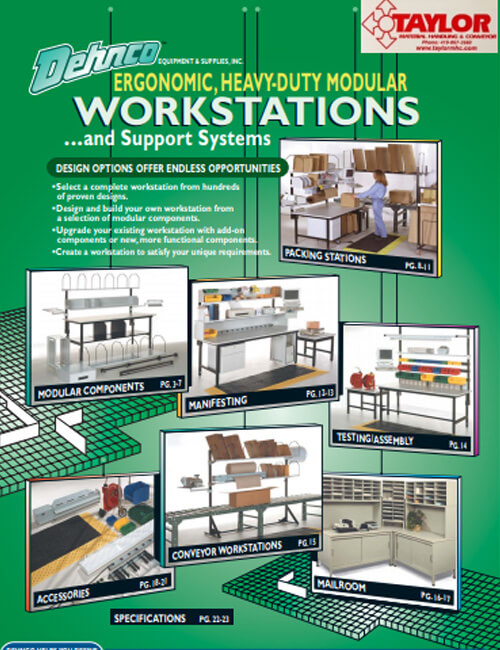 Dehnco Heavy Duty Workstations Catalog