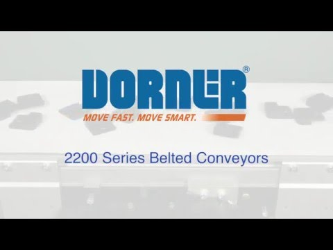 Dorner 2200 Series Belted & LPZ Conveyors