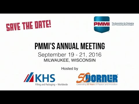 Dorner KHS PMMI Annual Meeting