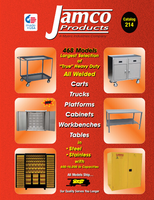 Jamco Carts-Dollies-Steel Containers & Racks