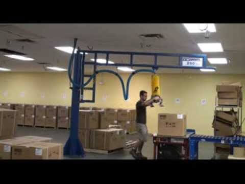 Palletizing Point of Sale Terminals