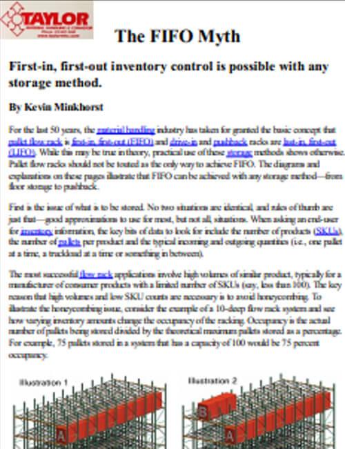 The FIFO Myth